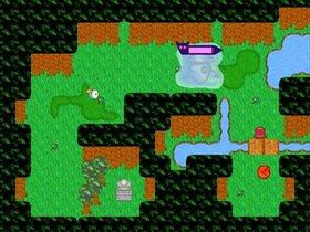 袋小路のボス退治 Game Screen Shot3