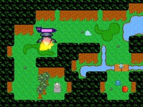 袋小路のボス退治 Game Screen Shots