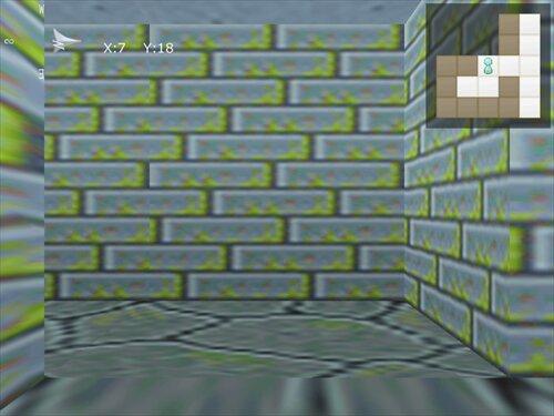 我闘亜々亜作物語皆無系擬似3D迷路 Game Screen Shot1