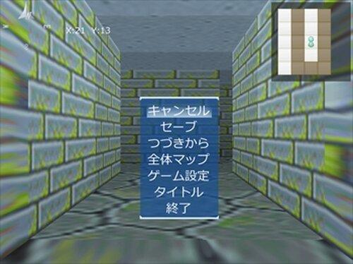 我闘亜々亜作物語皆無系擬似3D迷路 Game Screen Shot3