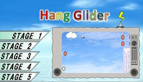 HangGlider Game Screen Shot2