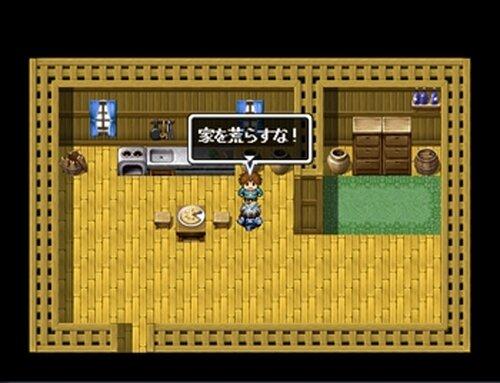 「家を荒らすな!」 Game Screen Shots