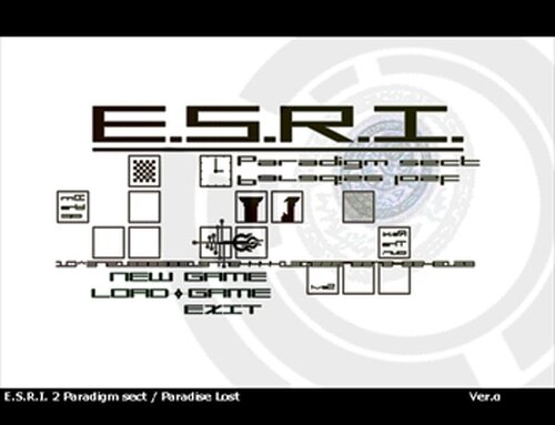 E.S.R.I.2 Paradigm sect Game Screen Shots