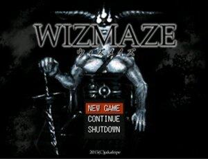 WIZMAZE(ウィズメイズ) 【Ver2.11】 Game Screen Shot