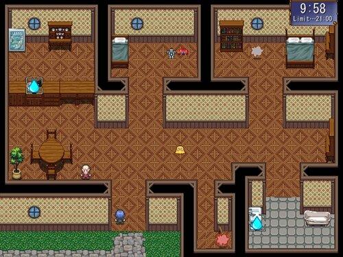 モップ君のお掃除ゲーム Game Screen Shot1