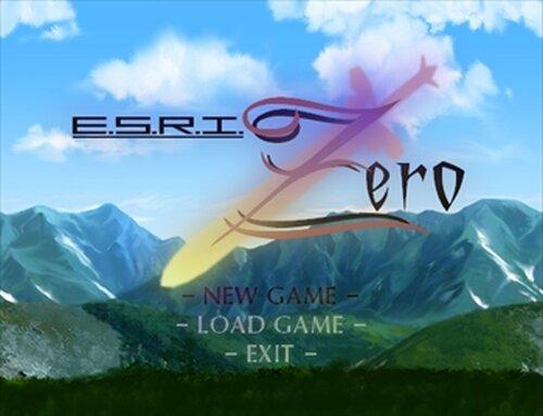 E.S.R.I.ZERO Game Screen Shots