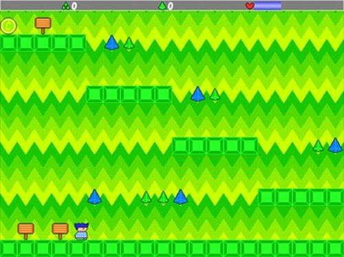 ヤシーユのシンプルアクション Game Screen Shot2