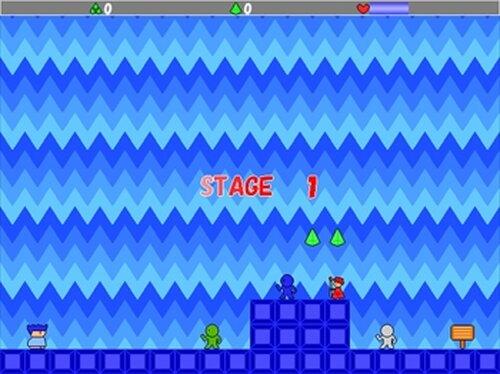 ヤシーユのシンプルアクション Game Screen Shot3