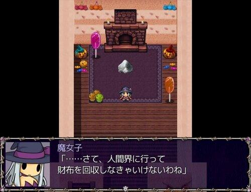 ハロウィンビレッジの事件簿 Game Screen Shot1