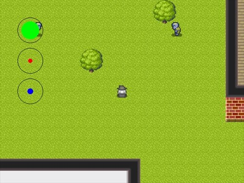 Witch & Zombie Game Screen Shot1