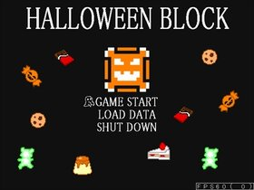 HALLOWEEN BLOCK Game Screen Shot2