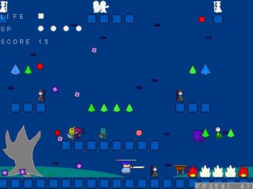 墓地探索 Game Screen Shot