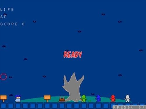 墓地探索 Game Screen Shot2
