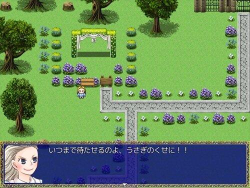 喜劇の国のアリス Game Screen Shot