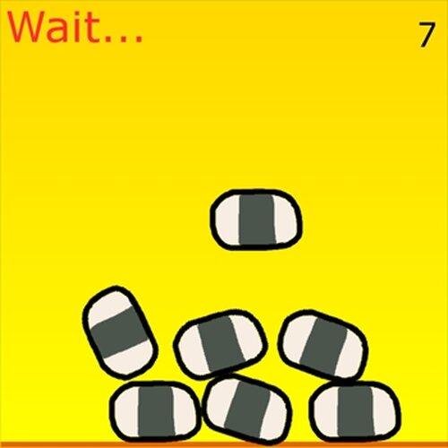 おにぎりバランスゲーム Game Screen Shot3
