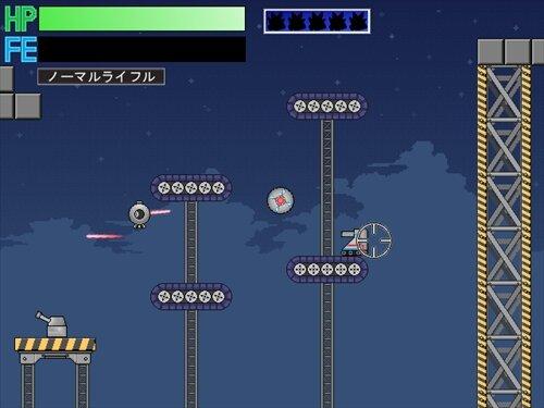 ラウンドアルム Game Screen Shot1