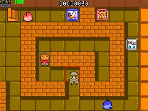 ボンバーミステリータワー Game Screen Shot1