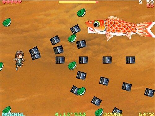 慧 vs こいのぼり Game Screen Shot