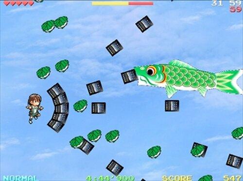 慧 vs こいのぼり Game Screen Shot3