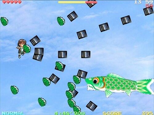 慧 vs こいのぼり Game Screen Shots