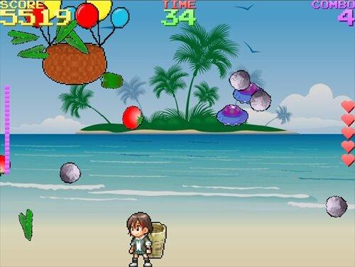 慧ちゃんの大収穫祭 Game Screen Shot1