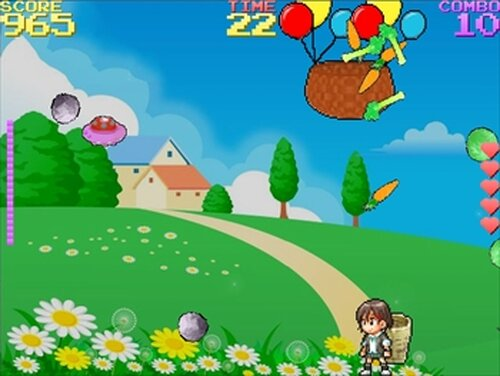 慧ちゃんの大収穫祭 Game Screen Shot3