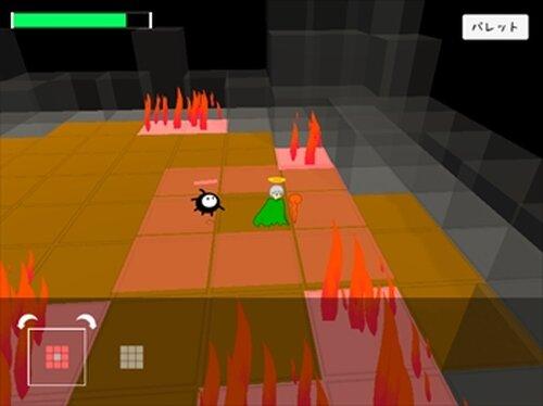 ぬりカエ Game Screen Shot2