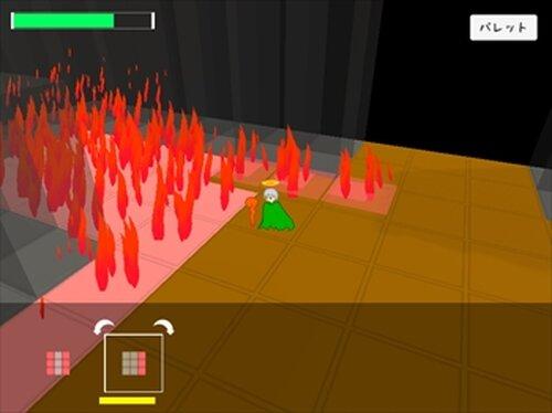 ぬりカエ Game Screen Shots
