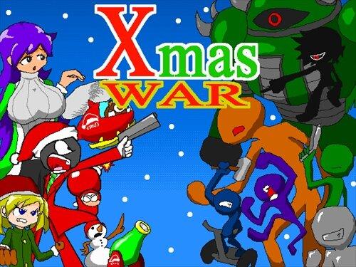 X'mas WAR Game Screen Shot1