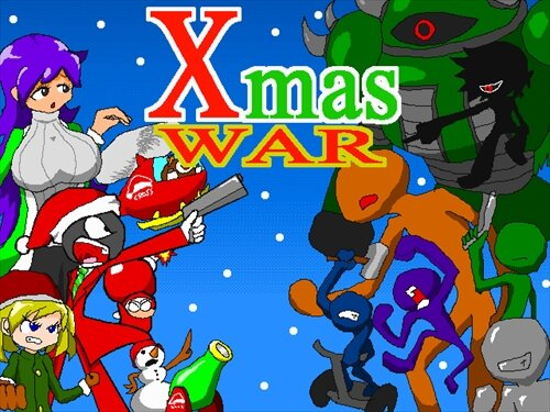 X'mas WAR Game Screen Shot1