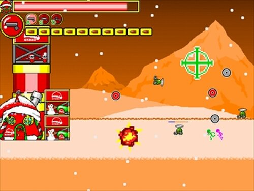 X'mas WAR Game Screen Shot5