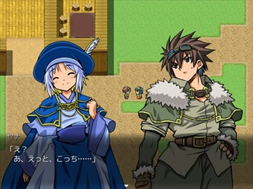 魔法使いの夢現 聖誕祭の一幕 Game Screen Shots