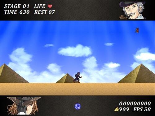 VampireBlaze2スフィンクスの王錫(リメイク) Game Screen Shot1