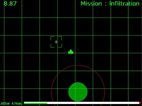 RaderCircle Game Screen Shot1