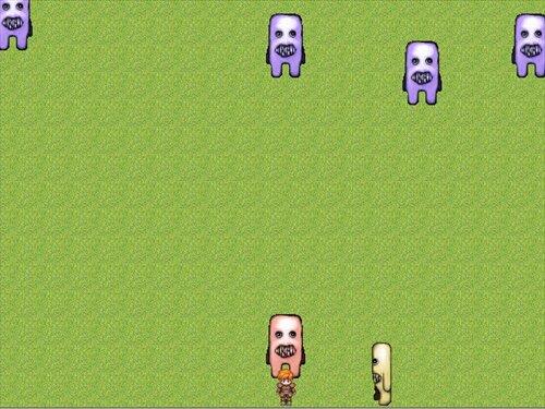 フワッティーから全力で逃げるゲーム ~フワッフワの草原~ Game Screen Shot1
