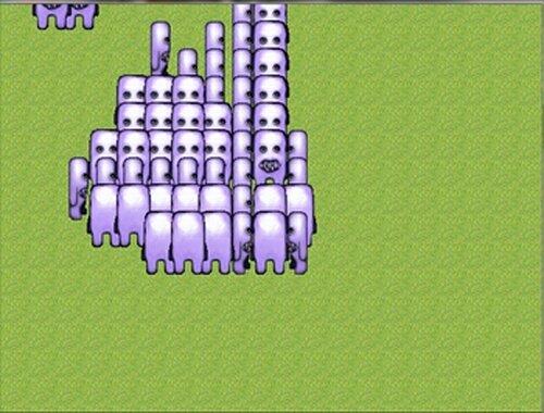 フワッティーから全力で逃げるゲーム ~フワッフワの草原~ Game Screen Shot3