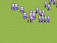 フワッティーから全力で逃げるゲーム ~フワッフワの草原~のゲーム画面