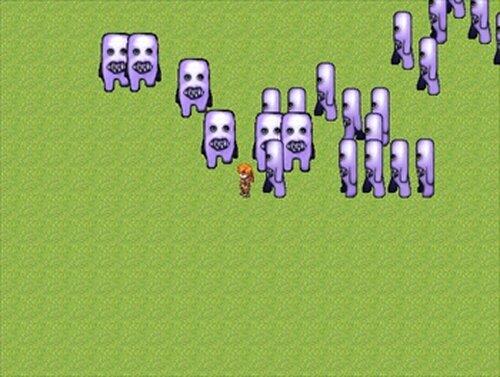 フワッティーから全力で逃げるゲーム ~フワッフワの草原~ Game Screen Shots