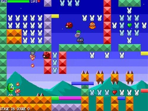 RabbitBean's める子 Game Screen Shot1