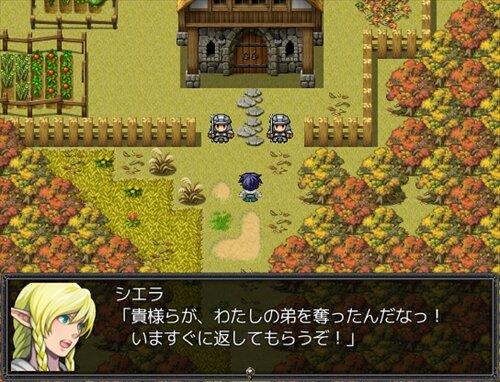 はじまりの聖戦 Game Screen Shot1
