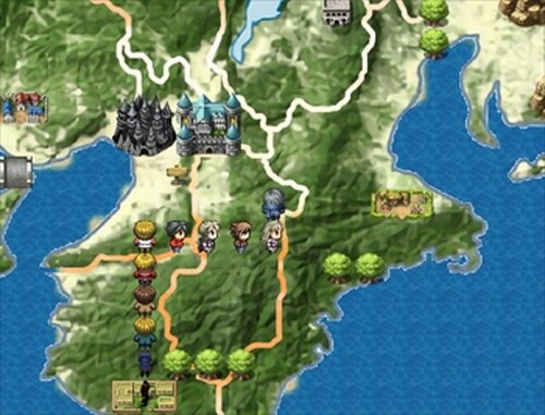 百人一首RPG 改 Game Screen Shot4