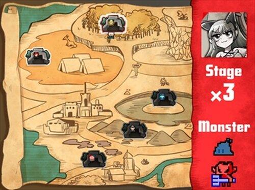 キマシタワーディフェンス Game Screen Shot3