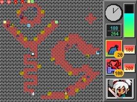 キマシタワーディフェンス Game Screen Shot5