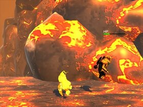 unityちゃん2.5Dアクション Game Screen Shot5
