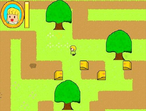 ナバナと森のラビリンス Game Screen Shot1