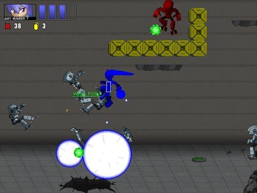 シューティングスターセブン Game Screen Shot1
