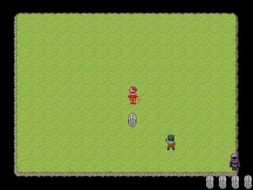 シューティングゲーム  Game Screen Shot1