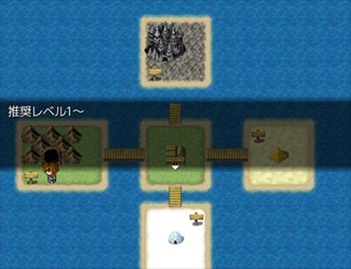 チョコをかけた死闘 Game Screen Shot3