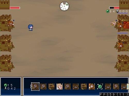 クロスフォートレス Game Screen Shot1