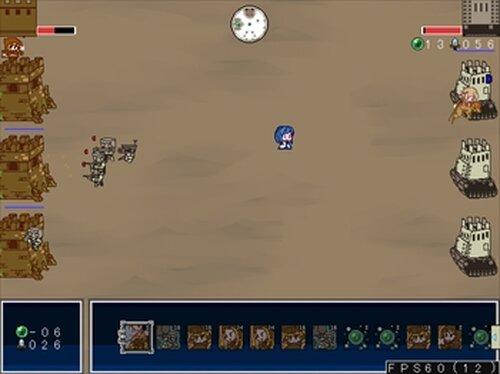 クロスフォートレス Game Screen Shot4